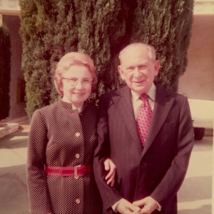 Helen and Lewis Goldstein Sept 1974